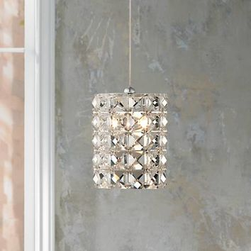 "Possini Euro Design Pantheon 4"" Wide Crystal Mini Pendant - #X9689 