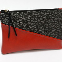 Clutch / Makeup Bag - Leatherette