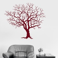 Wall Vinyl Decal Tree Forest Room Art Home Decoration Stickers Unique Gift (ig3103)