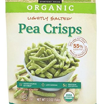 365 Everyday Value, Organic Lightly Salted Pea Crisps, 3.3 oz
