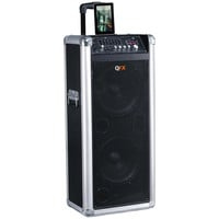 """QFX Portable Battery Powered PA Bluetooth 10"""" Speaker"""