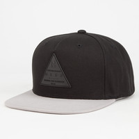 Neff X Mens Snapback Hat Black/Grey One Size For Men 27714312701
