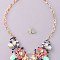 Saturday Night Fever Necklace - Mint
