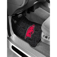 Arkansas Razorbacks NCAA Car Front Floor Mats (2 Front) (17x25)