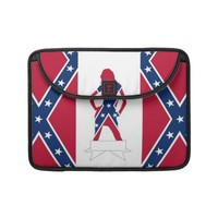 Confederate girl sleeves for macbooks from Zazzle.com