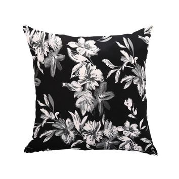 45*45cm Ink-Printing floral Cushion cover pillowcases Cushion covers sofa covers slipcovers Couch covers sofa bedding set pillow