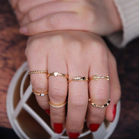 Fashion Ring Stylish 7Pcs/Set [11006838415]