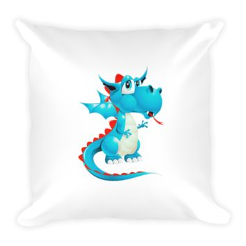 Draco Baby Blue Pillow
