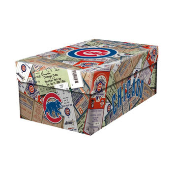 MLB Ticket Souvenir Box - Chicago Cubs