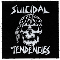 Suicidal Tendencies Cloth Patch Black