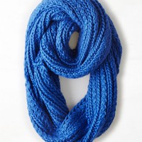 AEO Women's Loop Scarf (Cobalt Blue)