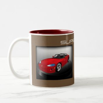 SUPER CAR COFFEE MUG