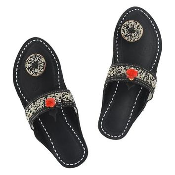 c7ab561258f9e Best Beaded Leather Sandals Products on Wanelo