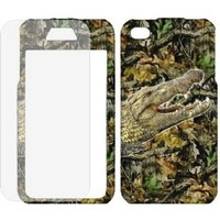 Amazon.com: Apple iPhone 4 / 4s (At&t, Verizon, Sprint) Camouflage Camo Hunting Alligator case cover ( FREE Anti-Glare Screen Protector ): Cell Phones & Accessories