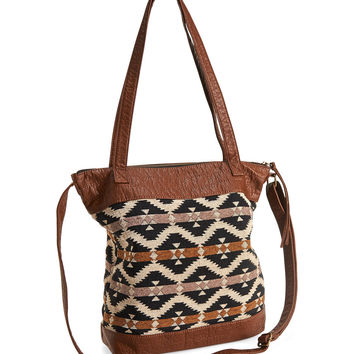 Southwest Woven Tote