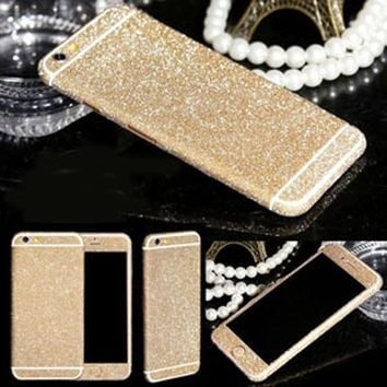 Glitter Full Sticker Wrap for iPhone 6 6S Plus 5.5""