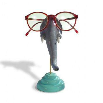 Elephant Nose Eyeglass Holder by ArtAkimbo on Etsy
