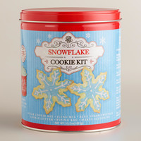 SNOWFLAKE SUGAR COOKIE KIT TIN