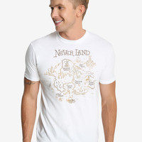 Disney Peter Pan Never Land Map T-Shirt