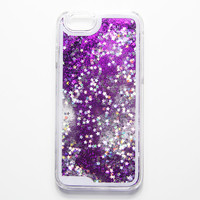 Liquid Glitter Waterfall iPhone 6s Case iPhone 6 Case iPhone 6S/6 Plus Case iPhone 5S/5/5C Case Violet Purple N0035