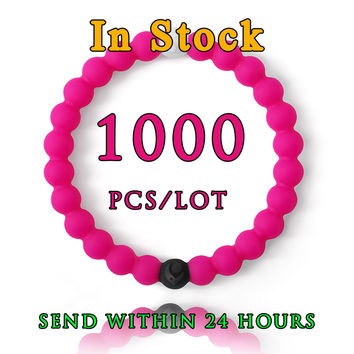 1000P In Stock New Red Blue Clear Purple neon shark purple camo water rose pink NEW RED lokai bracelets Furniture Accessories