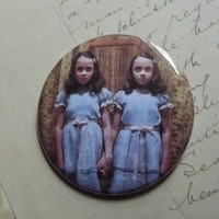 "The Grady Twins - Large 2 1/4"" Pin Back Button"