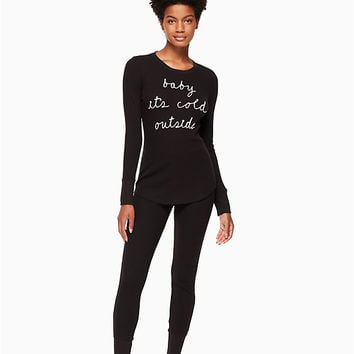 thermal pj set | Kate Spade New York