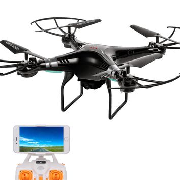 Brand New RC Helicopter Drone Dron RTF With 2.0MP HD Camera One Key Auto Return WiFi FPV Quadrocopter Remote Control Toys Gifts