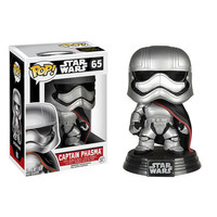 Captain Phasma Pop Star Wars Force Awakens Bobble-Head Vinyl Figure