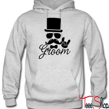 Groom Wedding Marriage Stag do night bachelor hoodie