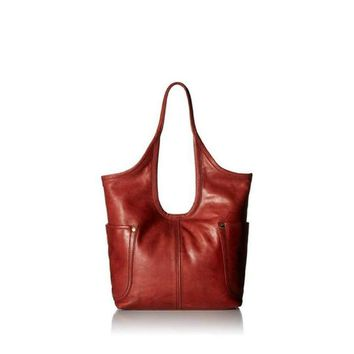 Frye Women's Campus Rivet Leather Shoulder Tote Bag