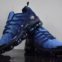 Nike 2018 TN Air Vapormax Plus Vascular Blue Gradient Shoe 40-45