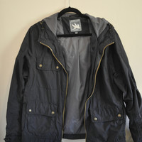 Urban Outfitters I. Spiewak & Sons Navy Wind Breaker