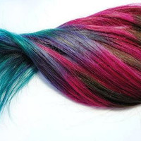 46 Colors - Hair Chalk - Temporary Hair Color - Ombre Hair Dying - Hair Chalking