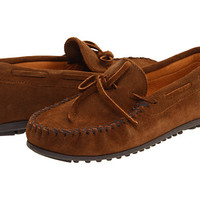 Minnetonka Classic Moc Dusty Brown Suede - Zappos.com Free Shipping BOTH Ways