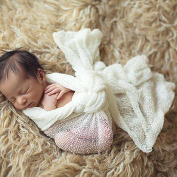 Maternity Baby Photography QuiltBaby Wrapped in Cloth Photo Props Apoyos FotografIa #2415