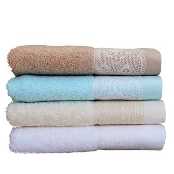 Minteks Embroidered Decorative Hand Towel Sets