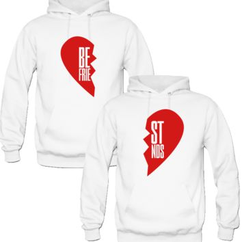 BEST FRIEND BFF HOODIES