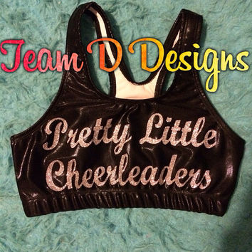 Pretty Little Cheerleaders Sports Bra