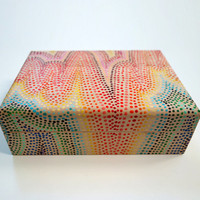 Dotted Rainbow Wood Keep Box