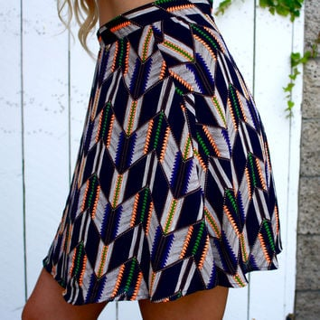 Follow Your Arrow Mini Skirt