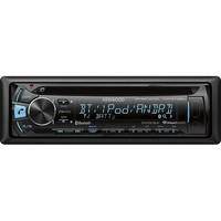 Kenwood - CD - Built-In Bluetooth - Apple® iPod®-Ready - In-Dash Receiver - Black
