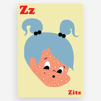 Z is for Zits Print