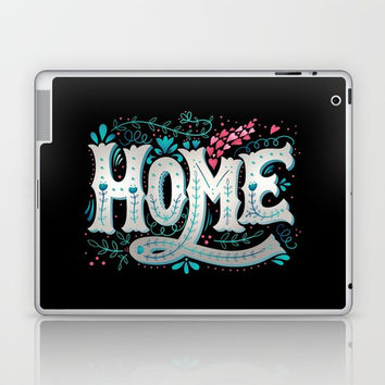 Home Laptop & iPad Skin by MIKART