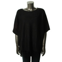 NY Collection Womens Plus Knit Short Sleeves Pullover Sweater