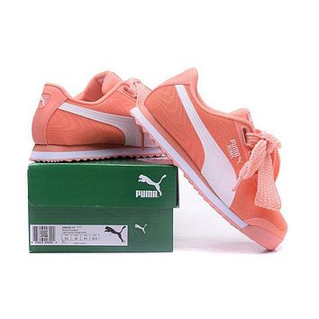PUMA Roma TK Graphic Newest Fashion Women Casual Bow Running Sport Shoes Sneakers Orange I/A