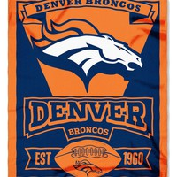 Denver Broncos 50x60 Fleece Blanket - Marque Design