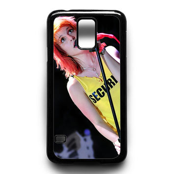Hayley Williams Paramore Singer Samsung Galaxy S5 Case