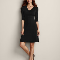 3/4-sleeve Balance Dress | Eddie Bauer