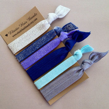The Stevie Collection Hair Tie-Ponytail Holders by Elastic Hair Bandz on Etsy